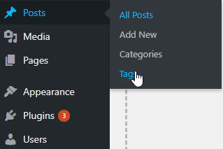 Wordpress Tags